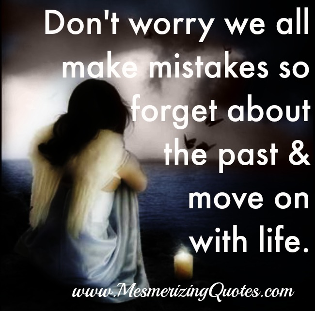 Don't worry! We all make mistakes