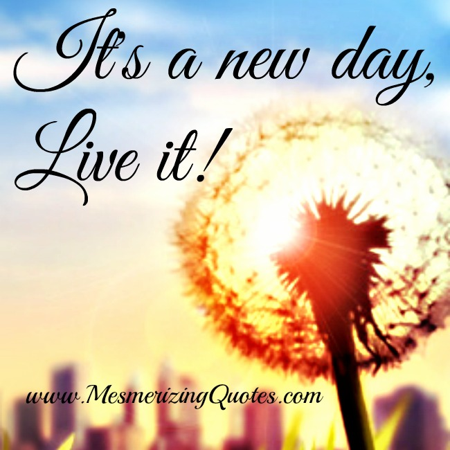 Every day is a new day to learn, grow, develop your strengths & heal yourself