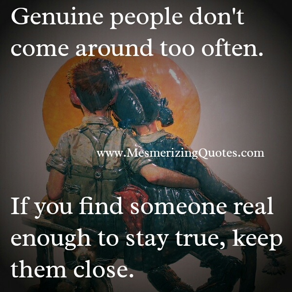 Quotes About Genuine People. QuotesGram