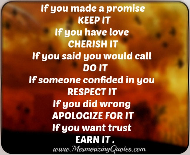 If you did wrong apologize for it