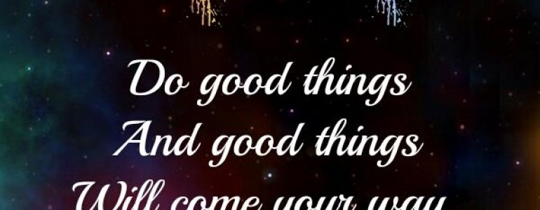 Good things will come quotes quotesgram - Nice things are nice ...