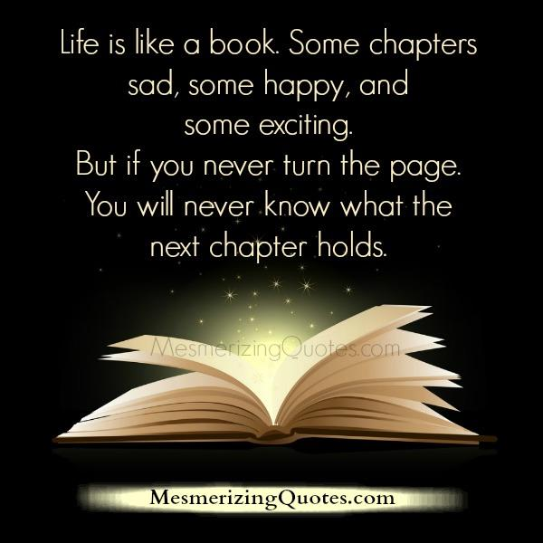 Book Quotes About Life New Life Is Like A Book  Mesmerizing Quotes