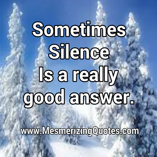 Silent is a really good answer