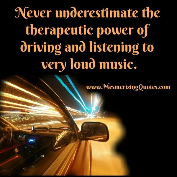 The Power of Loud Music