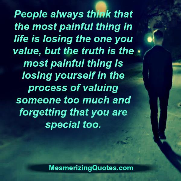 The Most Painful Thing In Life Mesmerizing Quotes