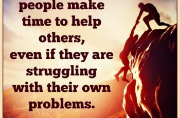 the-strongest-people-make-time-to-help-others