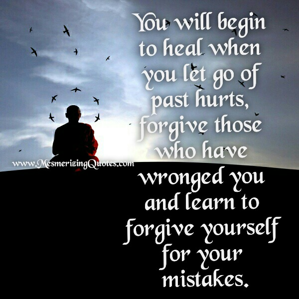 When you will begin to heal from your past